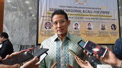 Gibran-Bobby Maju Pilkada, Sandiaga: Yang Tentukan Rakyat Bukan Elite