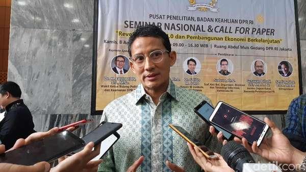 Gerindra Ajukan 4 Cawagub Baru, Sandiaga: Keputusannya di PKS