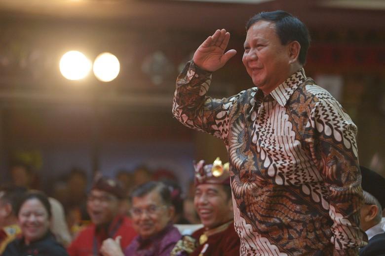 Prabowo: Gerindra Perjuangkan Pemindahan Ibu Kota Sejak 2014