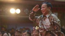 Potret Prabowo Ikut Pertemuan Koalisi Jokowi di Sela Kongres PDIP