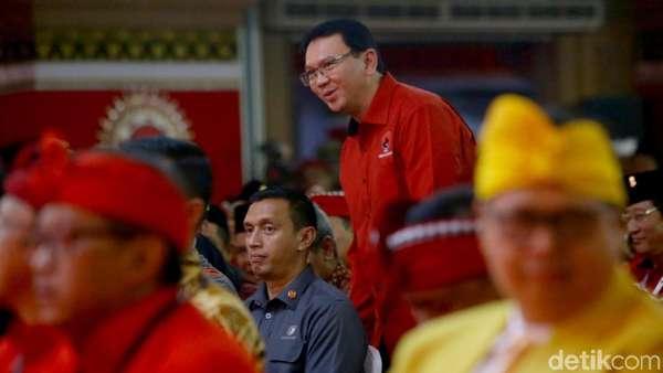 Ahok Spesial di Kongres, PDIP Mau Dorong Jadi Menteri?