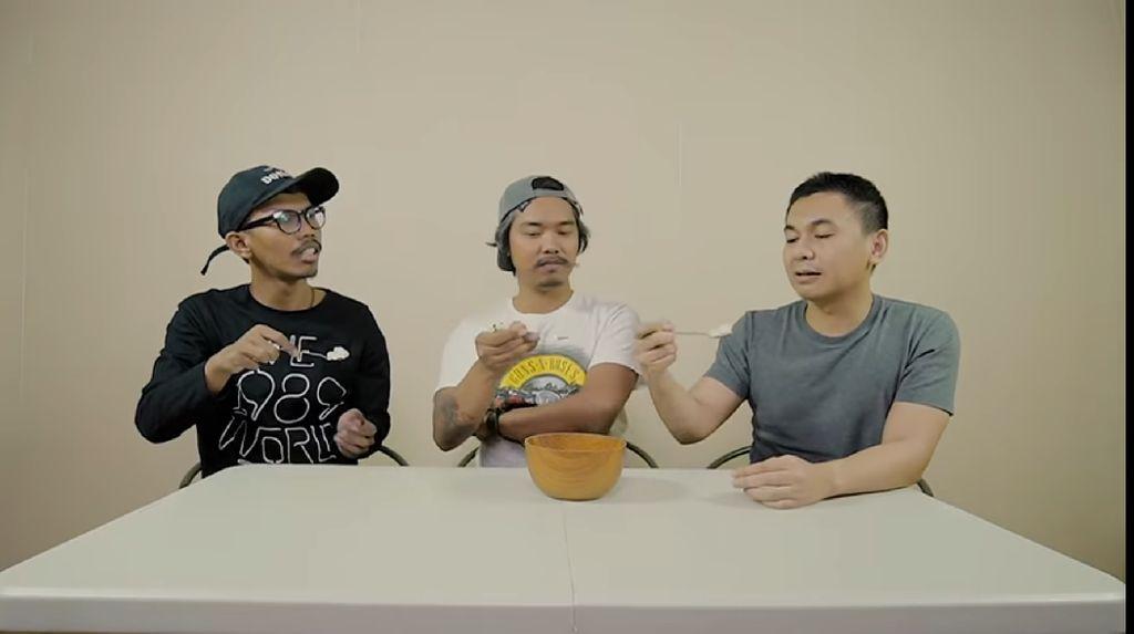 3 Komika Ini Cari Nasi Terenak, Dodit : Ya Allah Review Nasi Putih
