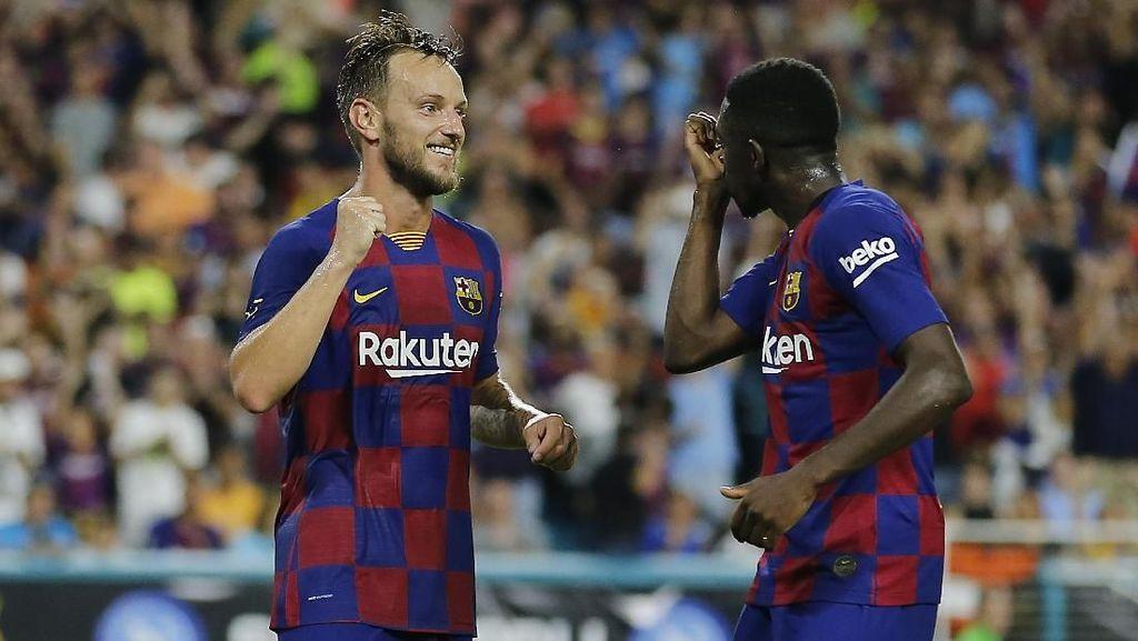 Barcelona Bungkam Napoli 2-1