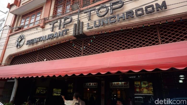 Restoran Tip Top di Medan (Wahyu Setyo/detikcom)