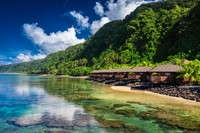 Samoa terdiri dari dua pulau besar dan 4 pulau kecil. Dua pulau utama bernama Savai dan Upolu, sedangkan ibukotanya adalah Apia. (iStock)