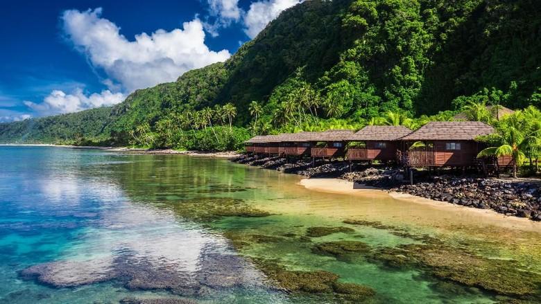 Keindahan Samoa (iStock)