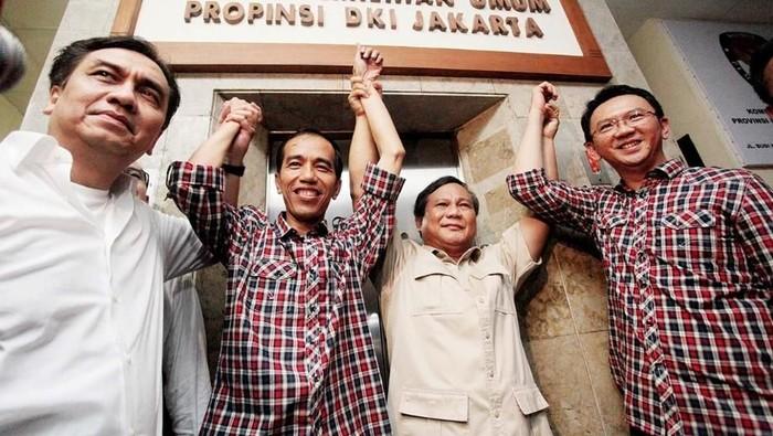 Prabowo Ahok Jokowi