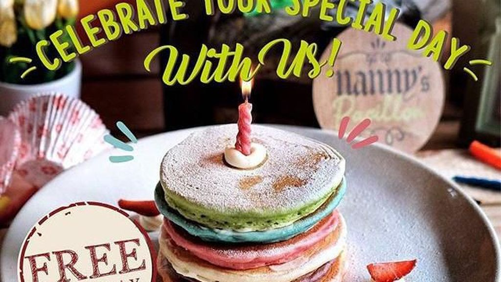 Tunjukkan KTP Saat Ulang Tahun, Bisa Makan Gratis di 5 Resto Ini