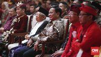 Prabowo Subianto sempat memenuhi undangan untuk menghadiri Kongres ke-V PDIP di Bali