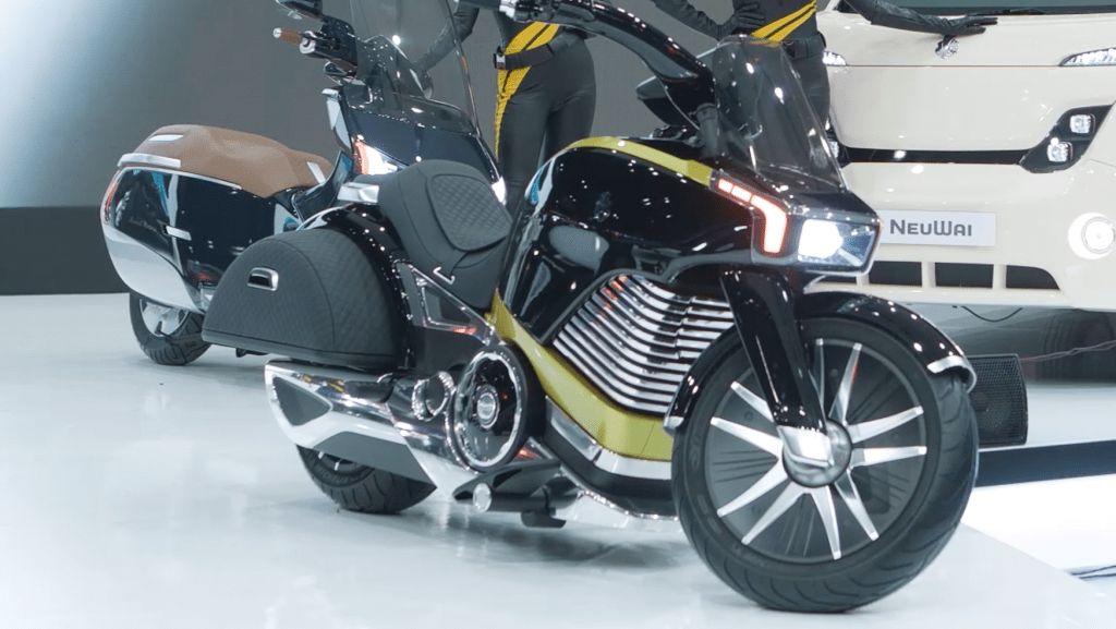 Motor Listrik Bergaya Harley-Davidson