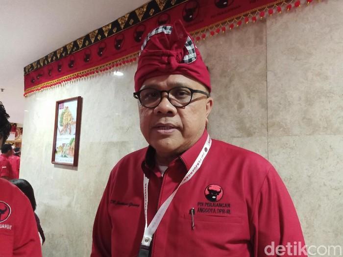 Ketua Badan Hukum PDIP Junimart Girsang (Dita-detik)