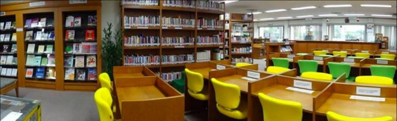 Senjakala Sebuah Perpustakaan