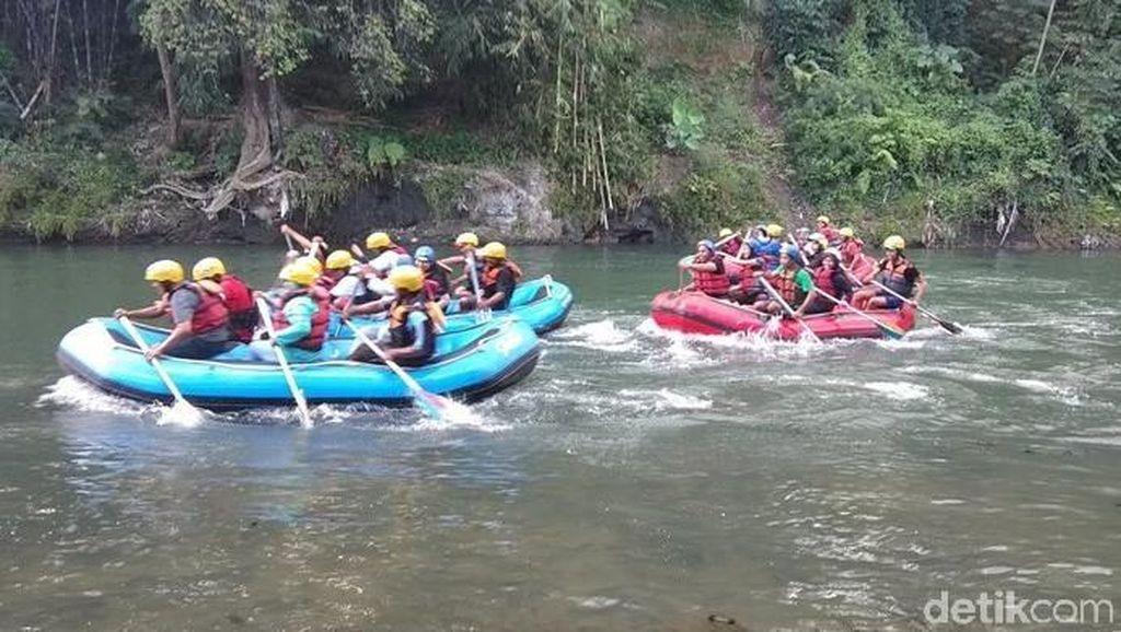 Lomba Perahu Karet di Magelang, Peserta harus Hafal Pancasila