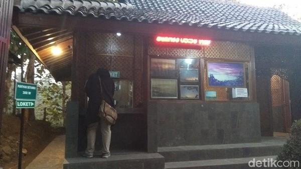 Untuk jadwal bukanya mulai pukul 04.00-18.00 WIB, kemudian untuk tiket masuk turis domestik Rp20.000 dan mancanegara Rp50.000. (Eko Susanto/detikcom)