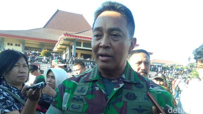 KSAD, Jenderal TNI Andika Perkasa di UGM, Jumat (9/8/2019).