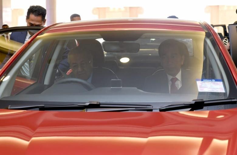 Mahathir Mohamad sopiri Jokowi. Foto: BPMI Setpres/Muchlis Jr