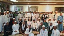 Dubes Agus Maftuh Apresiasi Silaturahmi Anak Mbah Moen-Habib Rizieq