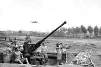 Perang Pasifik terjadi antara tahun 1941-1945, antara sekutu (AS) dan Jepang. Pertempurannya berlangsung paling banyak di Papua (Australian War Memorial)