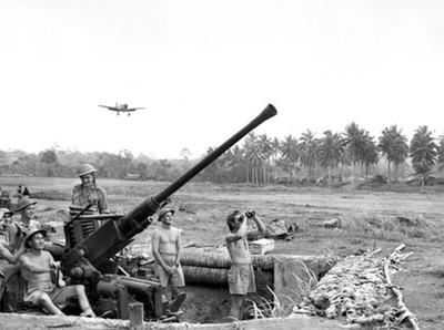 Perang Pasifik yang Membangun Papua
