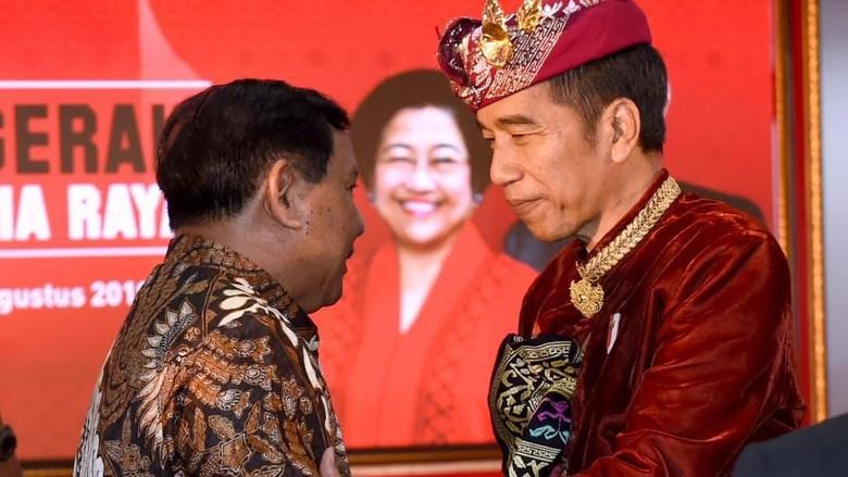 Gerindra Akan Gabung Pemerintah? Jokowi: Belum Final