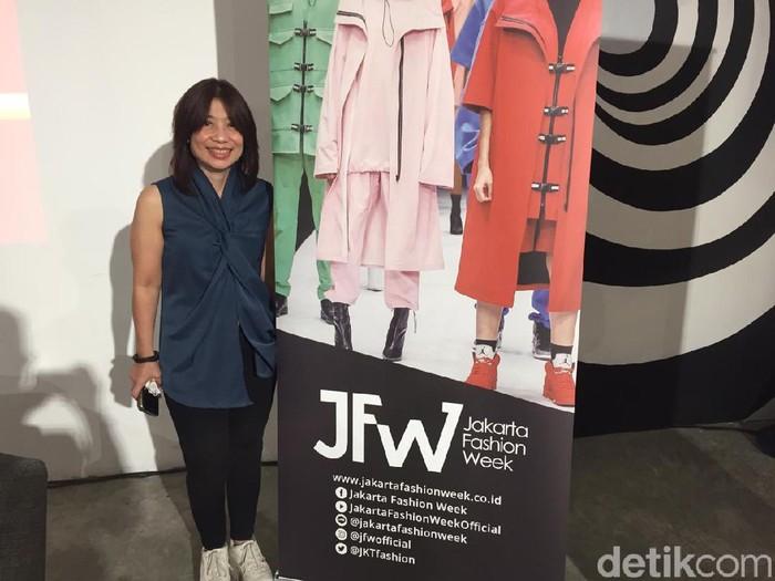 Direktur Jakarta Fashion Week Lenni Tedja (Foto: Daniel Ngantung/Wolipop)