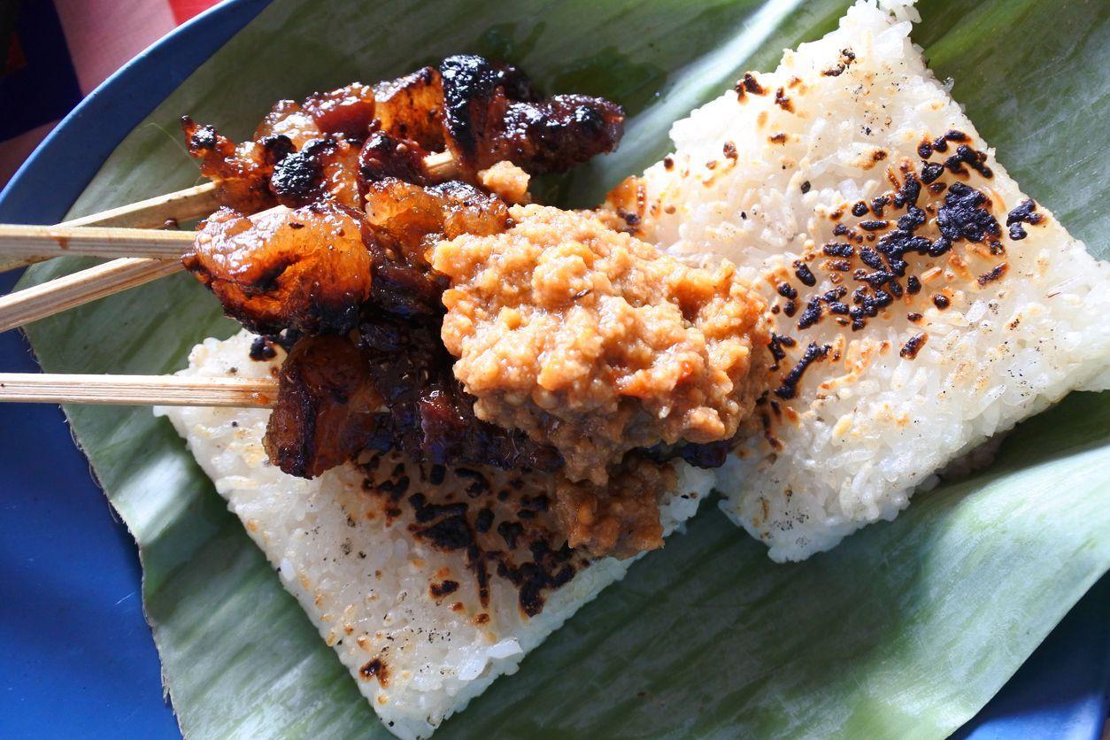 Maranggi traditional satay from Cianjur, West Java, Indonesia