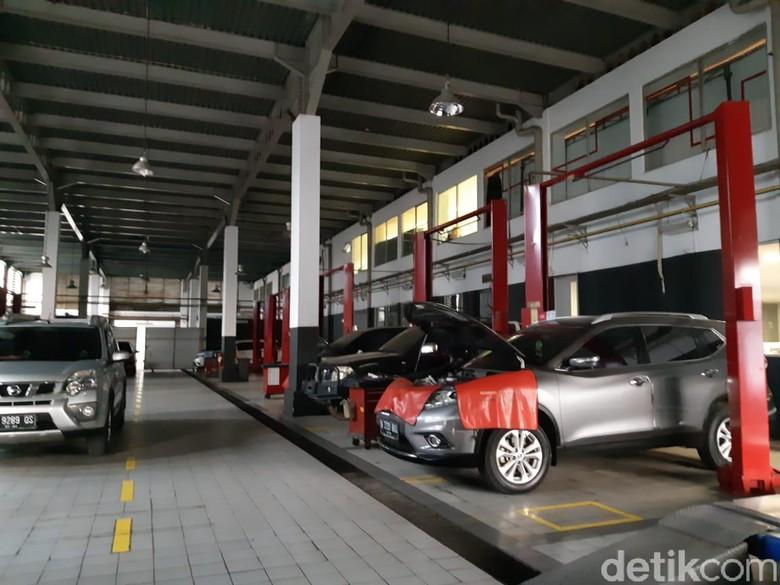 Bengkel resmi Nissan. Foto: Ridwan Arifin/detikOto