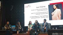 Cerita Putri Tanjung Sering Dibully hingga Termotivasi Bikin Creativepreneur