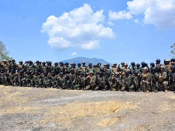 ilustrasi latihan militer. Foto: Istimewa