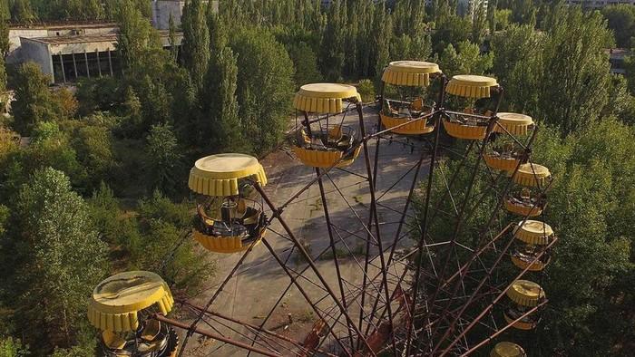 Ilustrasi suasana di Chernobyl (BBC)
