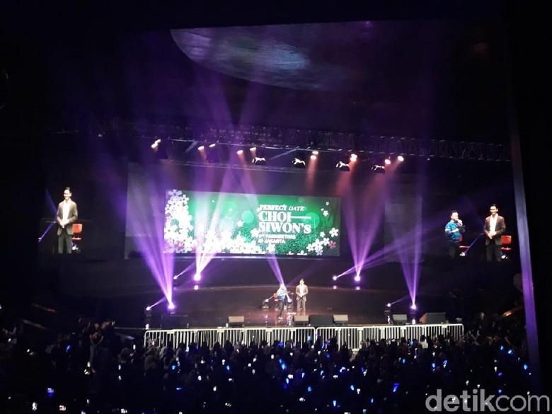 Foto: Fanmeeting Siwon Super Junior (Febrina Arifin/detikHOT)