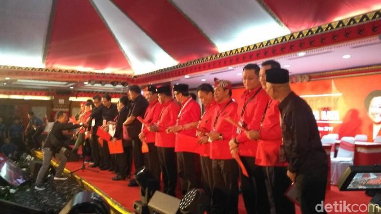 Dilantik Megawati, Ini Struktur DPP PDIP 2019-2024
