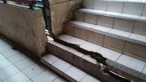 Bangunan Blok G Pasar Tanah Abang Retak, Pedagang: Sudah dari 7 Tahun Lalu