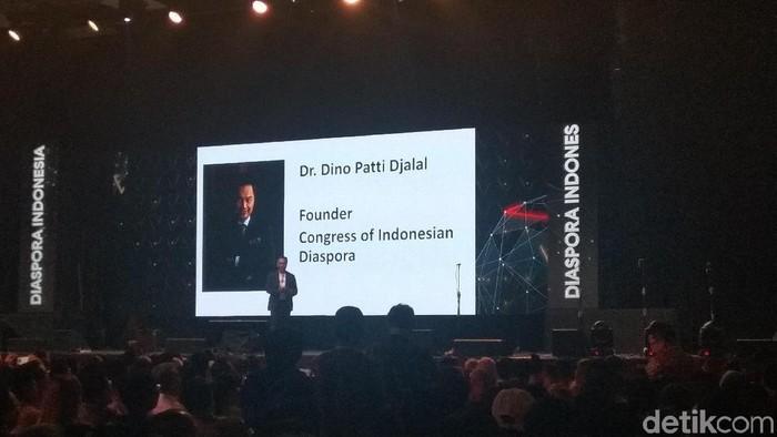 Foto: Ketua Dewan Pengawas Indonesia Diaspora Network Global, Dino Patti Djalal. (Yulida-detikcom)