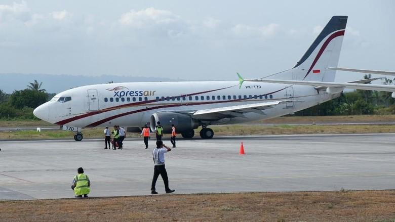 Express Air buka rute baru (Ardian Fanani/detikTravel)