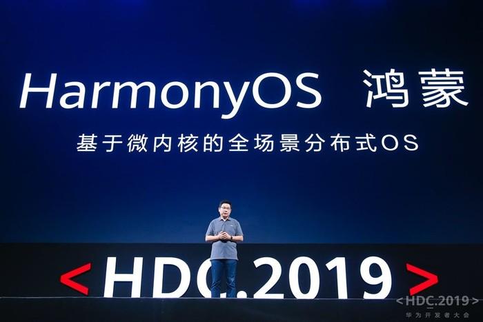 Peluncuran HarmonyOS. Foto: Huawei