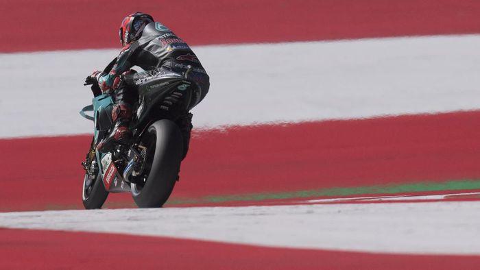 Fabio Quartararo menganggap start kedua di MotoGP Austria seperti meraih pole. Foto: Mirco Lazzari gp / Getty Images
