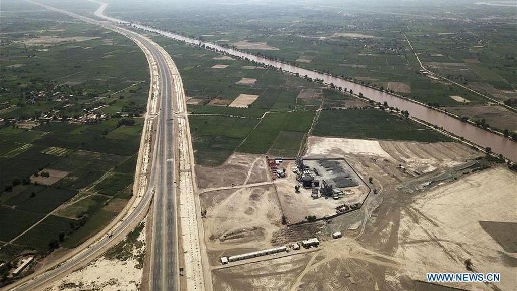 Dibangun China, Ini Tol Sukkur-Multan 392 Km di Pakistan