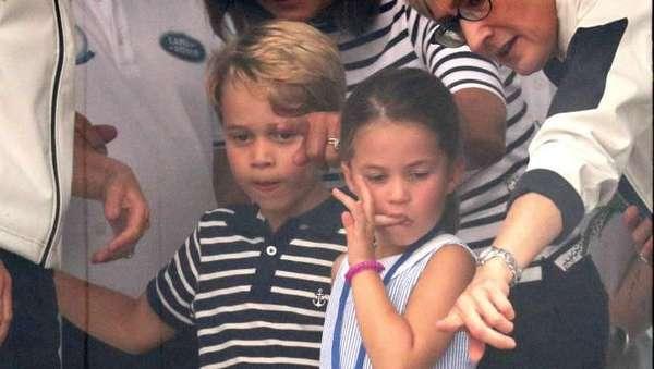 Gemes! Tingkah Jahil Putri Charlotte Bikin Kaget Kate Middleton