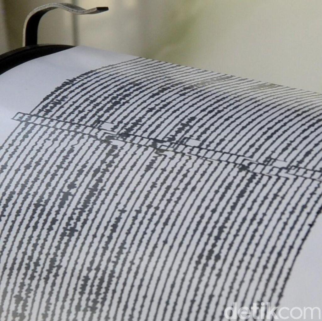 Gempa M 4,8 Terjadi di Halmahera Barat