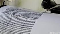 Gempa M 4,5 Terjadi di Sumur Banten