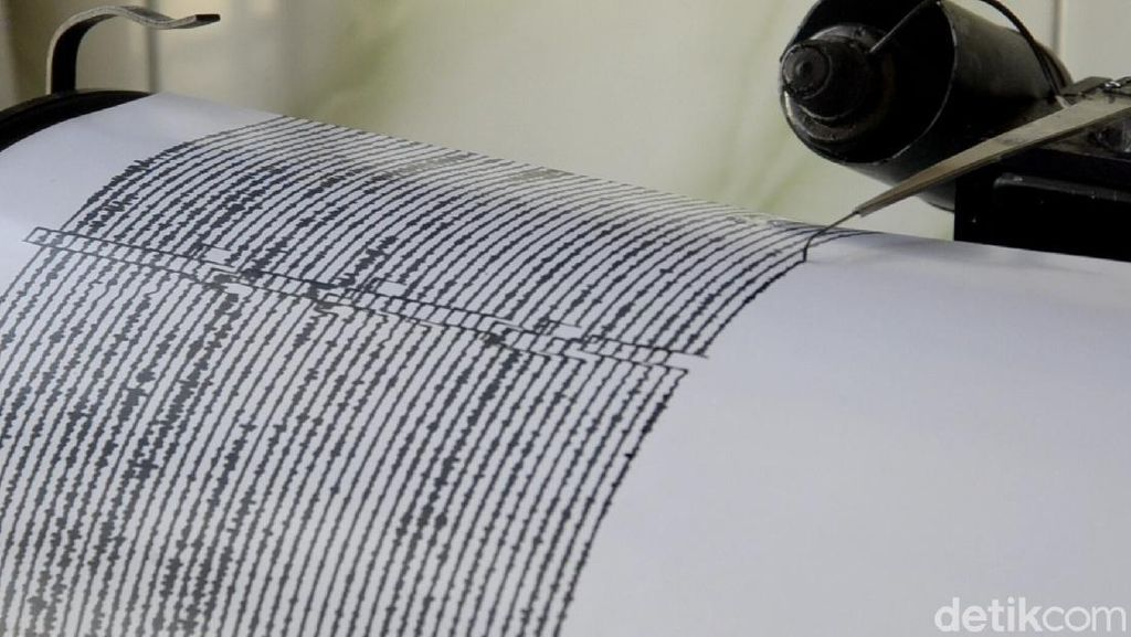 Gempa Darat M 3,3 Terjadi di Bukittinggi Sumbar