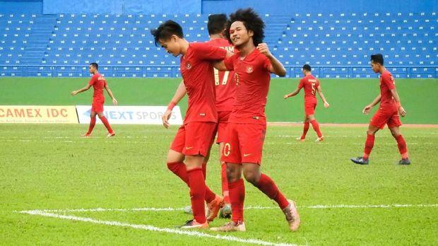 Timnas Indonesia U-18 berpeluang memberikan kado di HUT ke-74 RI.