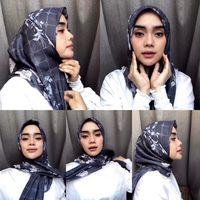 7 Inspirasi Tutorial Hijab Simpel Untuk Salat Idul Adha