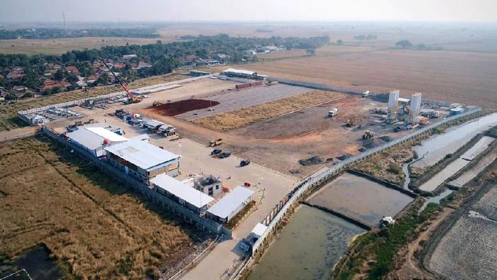 Pemerintah sedang membagun pelabuhan Patimban di Subang Jawa Barat. Intip yuk proyeknya.