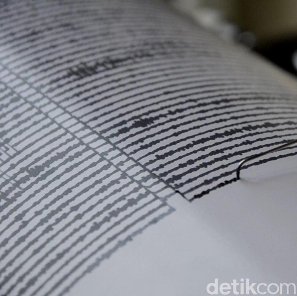 Gempa M 5 Terjadi Lagi di Malut, Tak Berpotensi Tsunami