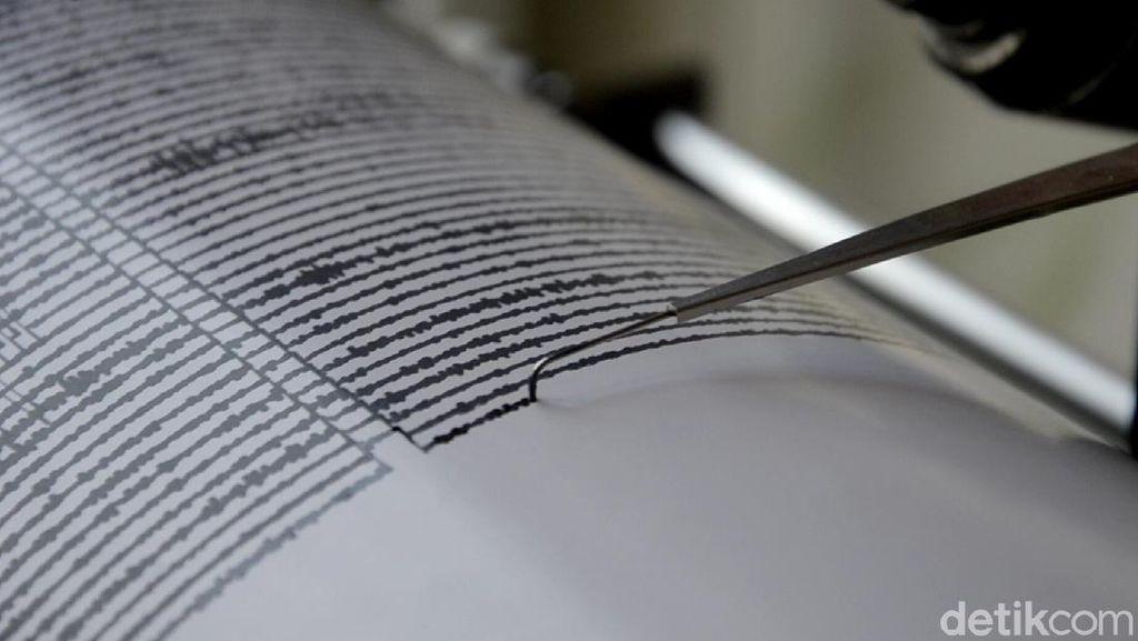 Gempa Bumi M 4,7 Guncang Pangandaran