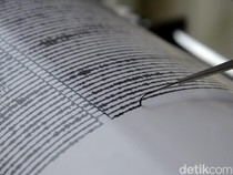 Gempa M 3,6 Terjadi di Buleleng Bali