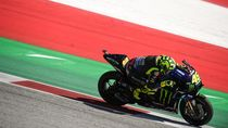 Rossi Girang Yamaha Mulai Oke, Start Posisi 10 Finish Ke-4
