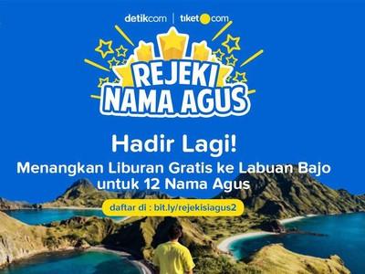 Ayo Ikutan Rejeki Nama Agus dan Liburan Gratis ke Labuan Bajo!